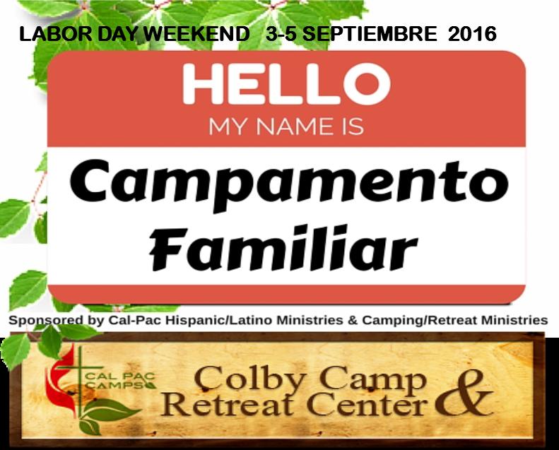 Campamento Familiar 2016 save the date